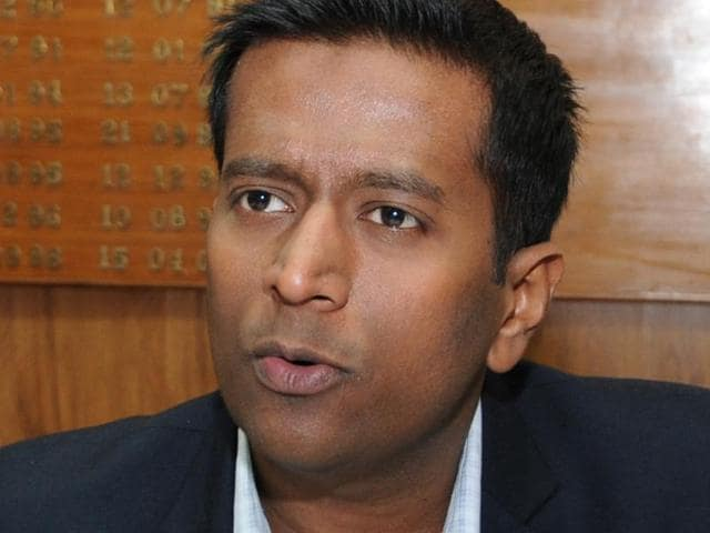 Additional deputy commissioner (ADC) Girish Dayalan(HT Photo)