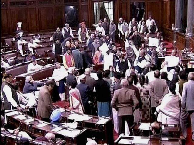 The bill has been languishing in the Upper House since the budget session.