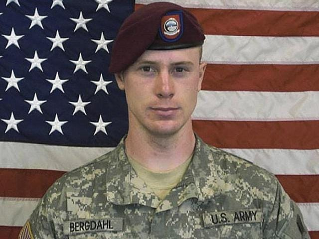 US Army Sergeant Bowe Berghdal is pictured in this undated handout photo. Bergdahl, who walked away from his post in Afghanistan and became a Taliban prisoner for five years, will be arraigned at Fort Bragg in a court-martial with a potential life sentence.