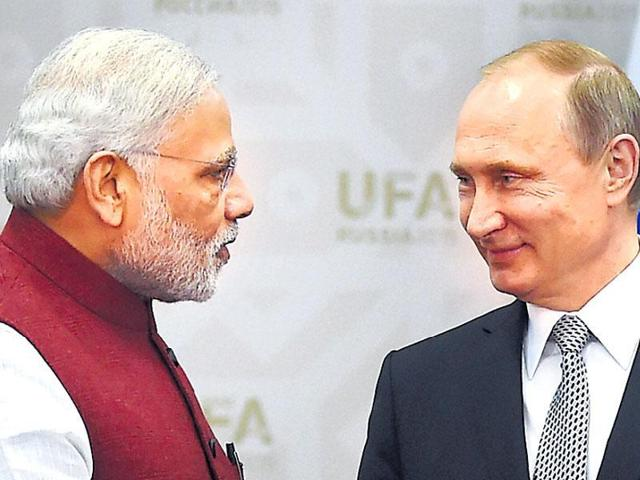 Modi in Russia