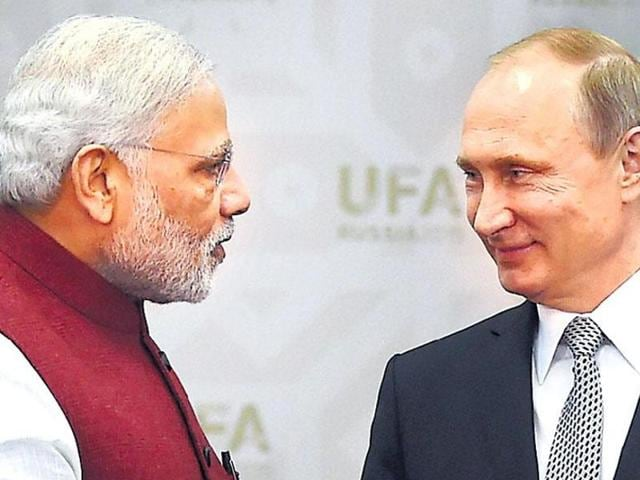 For decades, Russia has been India's closest ally in the international arena and many strategic defence buys.(PTI file photo)
