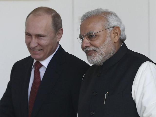 Modi's visit to Moscow underscores the need for India to move past her nostalgic past with Russia and focus on the present day relationship between the two nations.(REUTERS Photo)