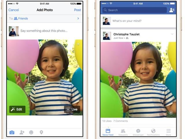 Apple's Live Photos  capture a second and a half before and after  the click
