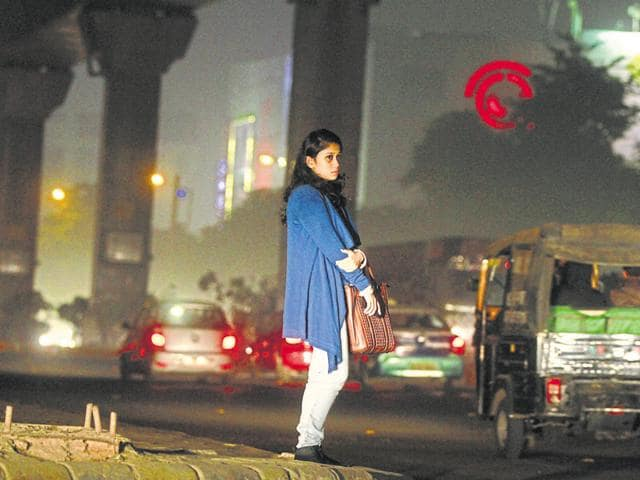 Gurgaon,women's safety,dark streets
