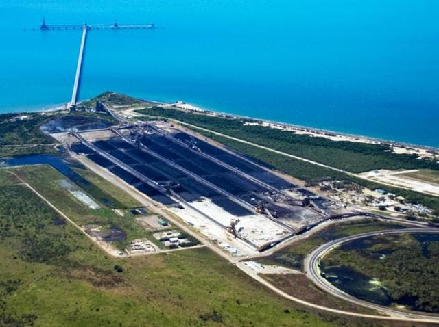 Abbot Point port terminal
