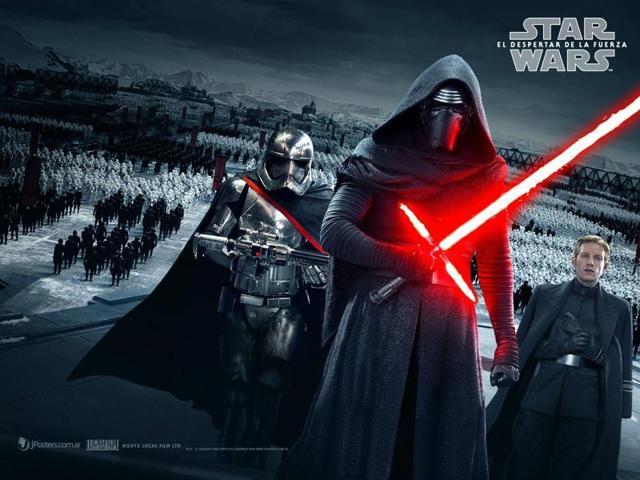 Star Wars,The Force Awakens,London tube