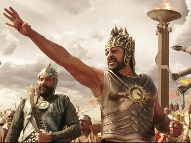 Baahubali released in 2015 and stars Prabhas, Rana Daggubati, Tamannaah and Anushka Shetty in lead roles.(YouTube Grab)