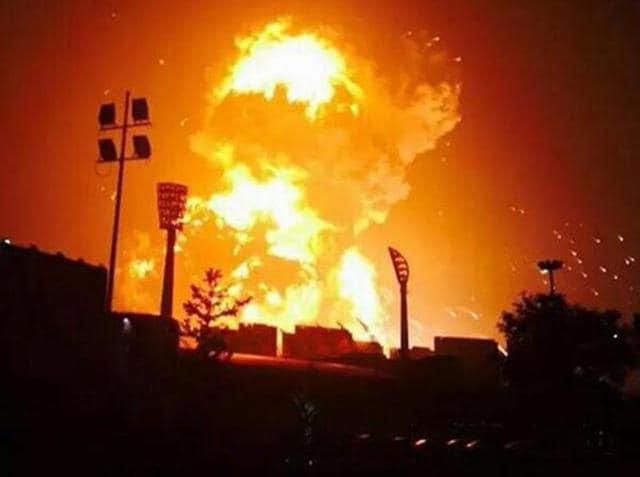 Udhampur blasts,Udhampur explosion,Explosion
