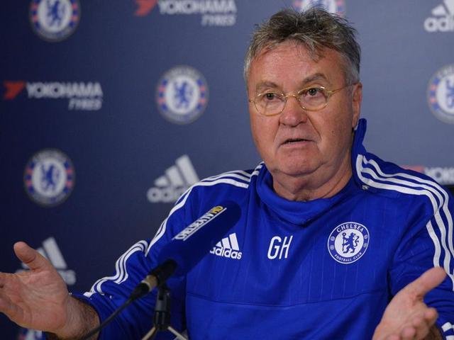 Guus Hiddink,Chelsea,English Premier League