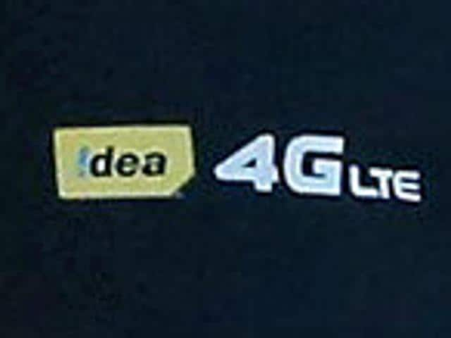 Himanshu Kapania, Idea Cellular's MD, speaks at the launch of high-speed fourth-generation (4G) mobile phone services across South India on Wednesday, beating rival Reliance Jio.