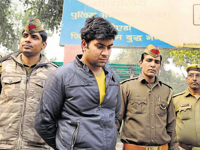 The police said accused Siddharth Mehrotra has been involved in at least seven burglaries in Sector 21 and 25.