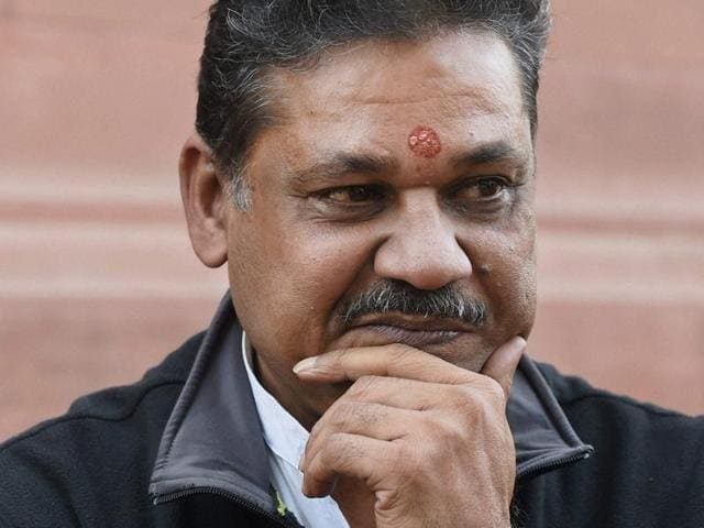 BJP member Kirti Azad. He was suspended by the party for raising the issue of 'corruption' in DDCA and targeting Union finance minister over the issue.