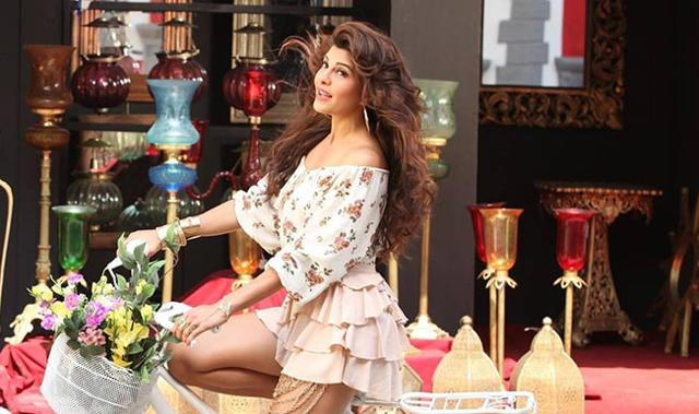 Jacqueline Fernandez in a snapshot from Chittiyaan Kalaiyaan from the movie Roy
