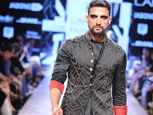 Men's kurtas are seeing a transition, with tons of pattern play, and with more and more western silhouettes influencing Indian wear