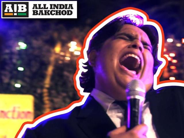 A still from AIB's Honest Indian Weddings Part 1 featuring Tanmay Bhat