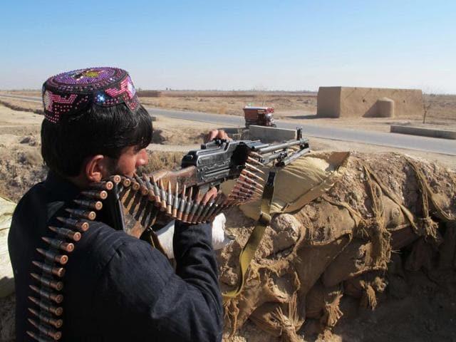 Afghan Local Police,Taliban militants,Marjah district