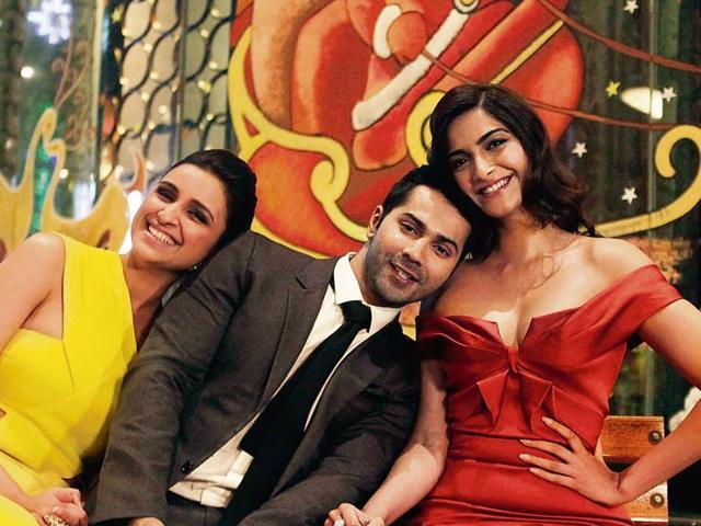 Sonam Kapoor,Parineeti Chopra,Varun Dhawan