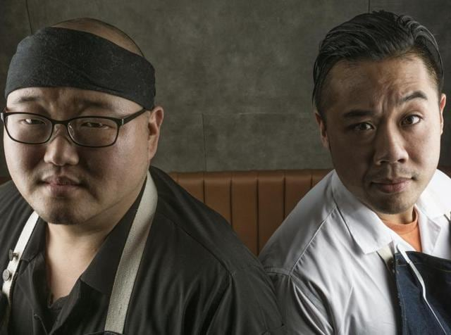 One Street Over, Cheung (right) will be assisted by close friend Boo Kwang Kim, who was previously the chef de cuisine at Little Goat, a popular Chicago-based eatery