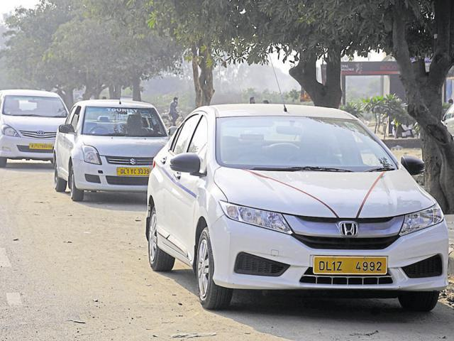 Cabs registered in Delhi that are used by corporate offices in Gurgaon also run on diesel.