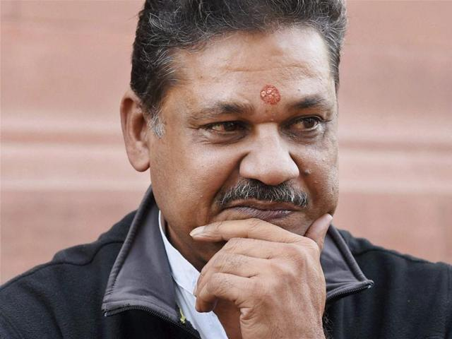File photo of BJP lawmaker and former cricketer Kirti Azad who has been suspended by the party in New Delhi on Wednesday.