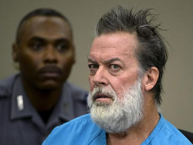 Robert Dear is accused of shooting three people to death and wounding nine others at a Planned Parenthood clinic in Colorado last month.