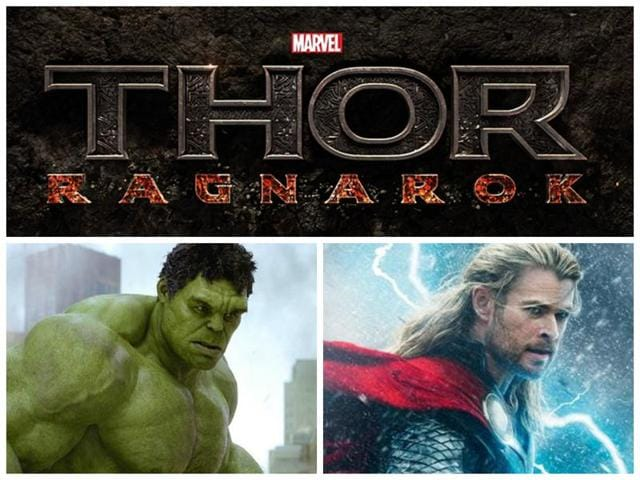 Hulk and Thor will go on an intergalactic road trip in Thor: Ragnarok.
