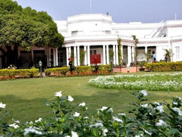 Every year, the President spends two weeks of the winter at the Rashtrapati Nilayam in Hyderabad.(Photo courtesy: Twitter)