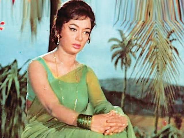 Sadhana was known for her signature hair style as well as her performances.