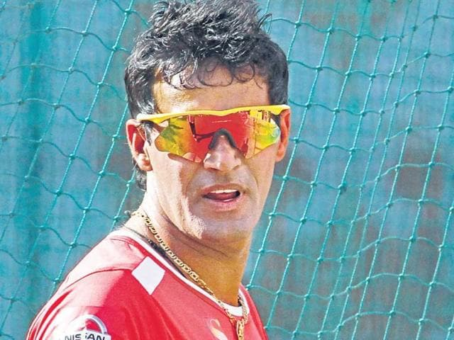 Afile photo of former Rajasthan Royals player Ajit Chandila.