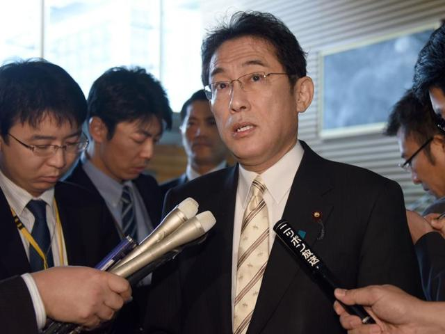 Prime Minister Shinzo Abe ordered Foreign Minister Kishida to visit South Korea in a drive to resolve a bitter row over women systematically forced to have sex with Japanese soldiers during World War II.