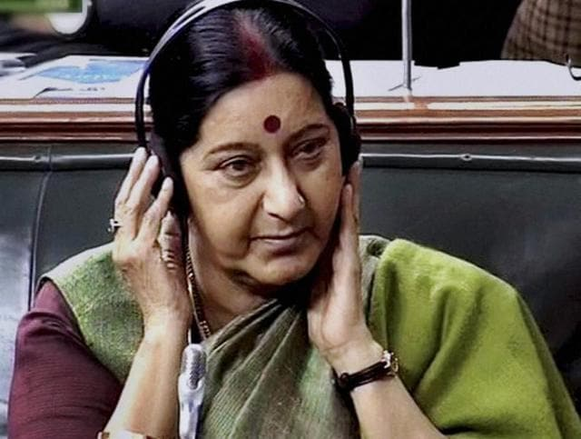 External affairs minister Sushma Swaraj said she was in touch with the Indian nationals.
