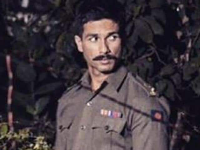 Shahid Kapoor in the first look of his next with Vishal Bhardwaj, Rangoon.