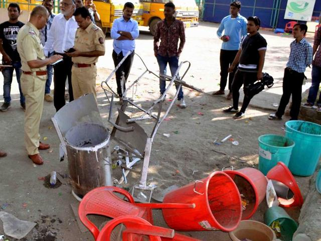 The Kolsewadi police station, probing the incident, said they have booked the school management under relevant sections of the Indian Penal Code.
