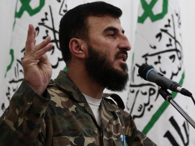 Zahran Alloush,Syria,Jaish al-Islam
