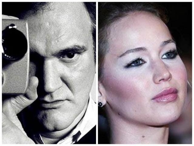 Quentin Tarantino,Jennifer Lawrence,The Hateful Eight