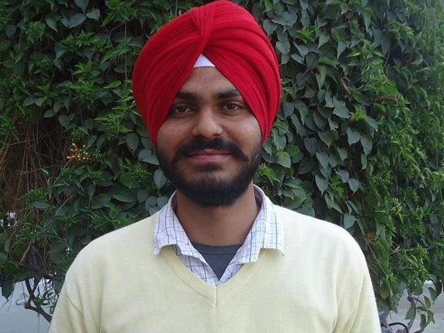 Sri Guru Angad Dev College student Kirpa Singh has set new example for rural youth by securing 13th rank in examination of Indian Naval Academy (INA) Ezhimala (Kerala) conducted by UPSC at Khadoor Sahib in district Tarn Taran on Saturday.