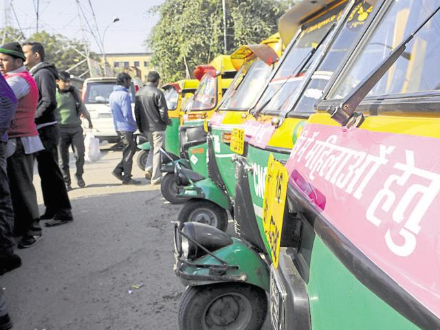 Officials said that the autorickshaws will be stationed outside the Botanic Garden and City Centre Metro stations.