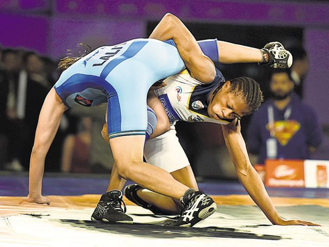 Pro Wrestling League,Mumbai Garuda,Bengaluru Yodhas