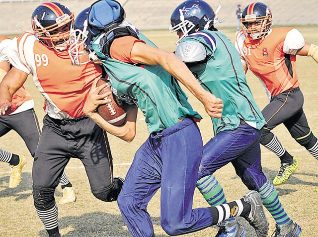 Punjabi University,Chandigarh University,American Football Tournament