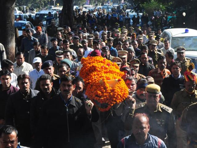 SK Pandey,IPS officer dies in Bhopal,medical tests for India services personnel