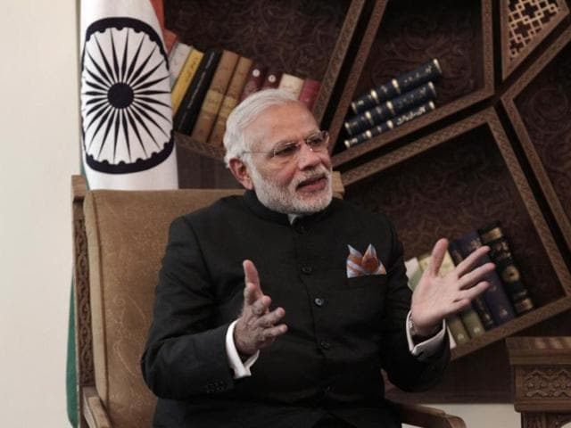 The Congress has mocked the Prime Minister's proposed 'Narendra Modi Mobile App', by saying that he will at least be aware of the plight of the poor as he flies off on yet another foreign trip.