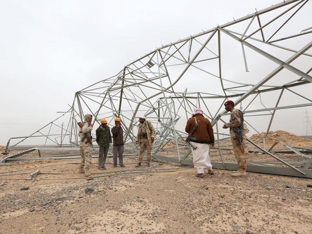Yemeni forces