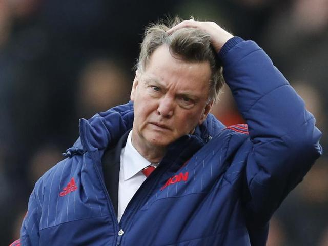 Louis van Gaal chose to drop Wayne Rooney from United's starting eleven for the game against Stoke.(Reuters Photo)