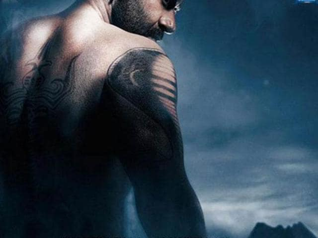 Ajay Devgn has shared the first look of his forthcoming film, Shivaay.