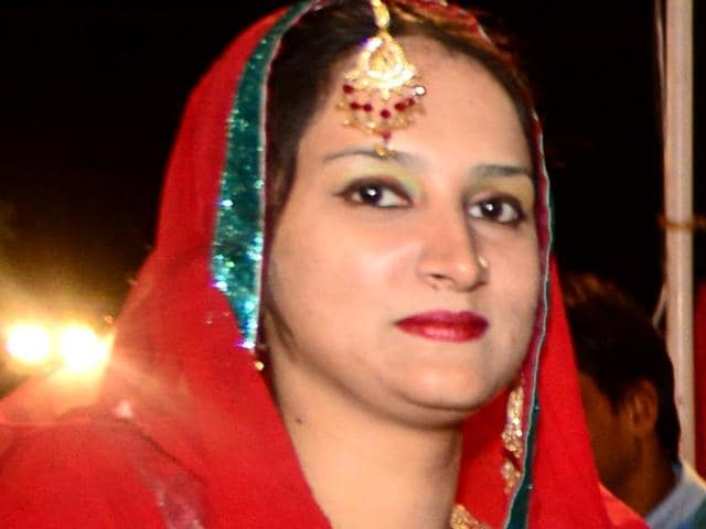 Anila (31), who married Azmuddin Mahmood from Bundi in 2007, has visited her home in Karachi only two times since.