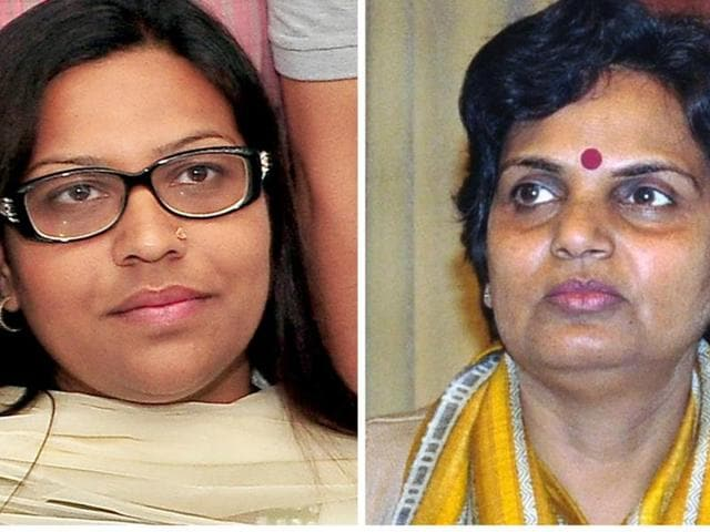 Jannat Jahan (Left) Latika Sharma(right)