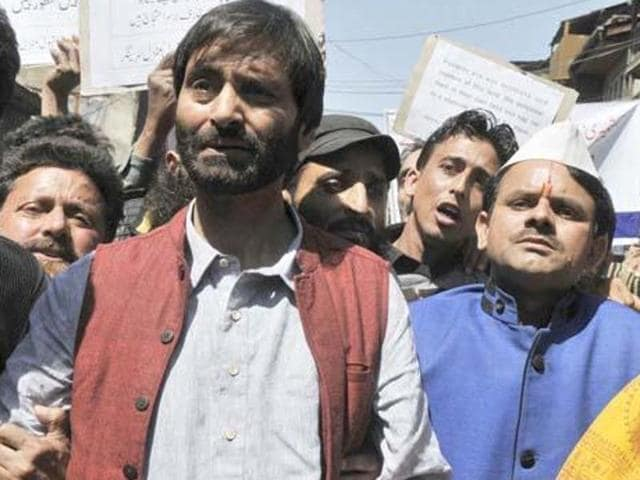 Separatist Jammu and Kashmir Liberation Front chairman Yasin Malik has been booked on charges of attempt to murder and sent to jail.