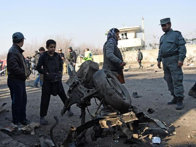 Attack at Kabul airport