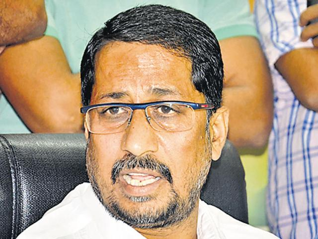 Minister for medical education and research Anil Joshi(HT File Photo)