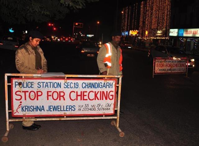 gridlock,seal drive,Chandigarh Police